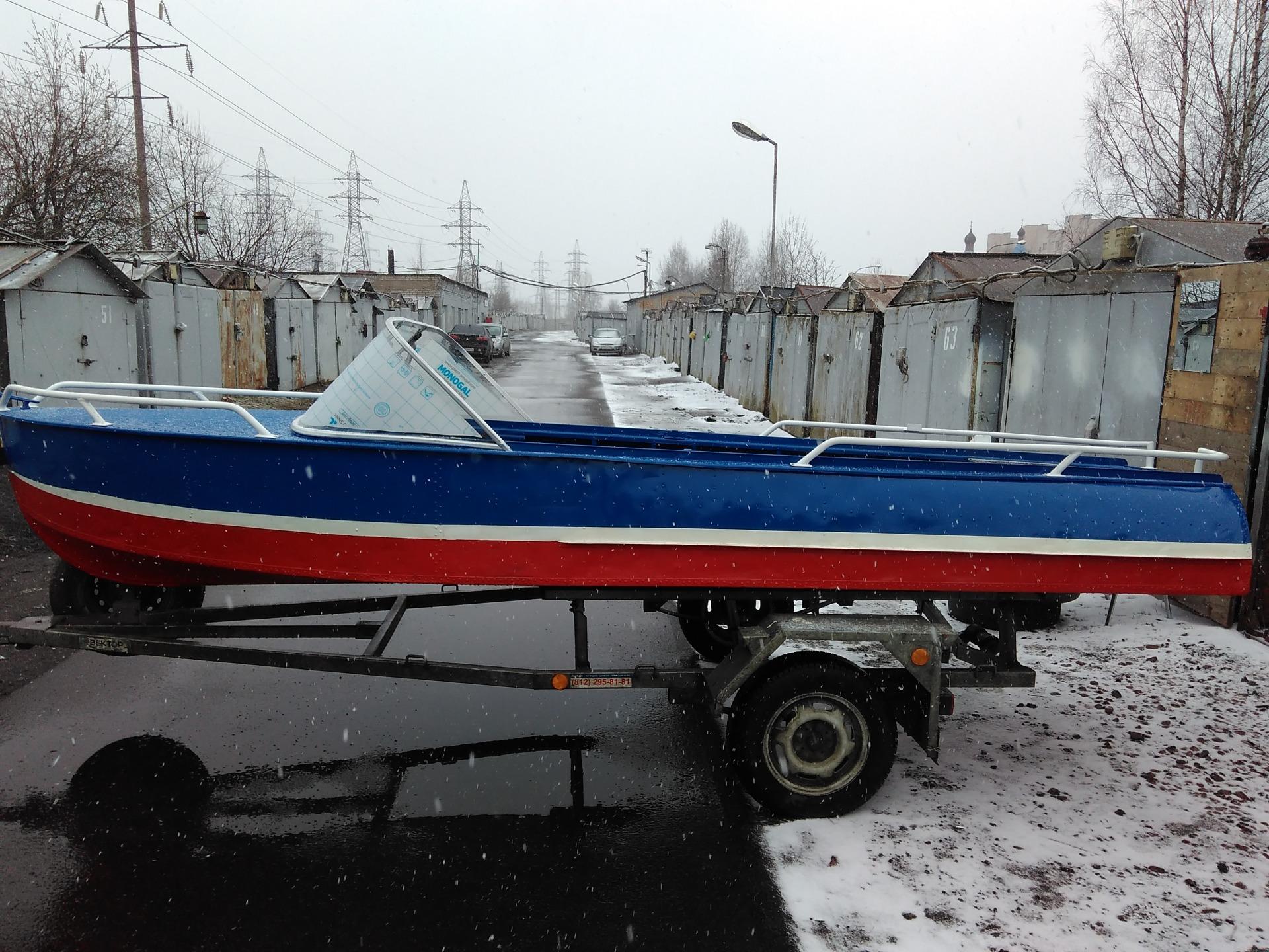 Тюнинг лодок казанка с булями